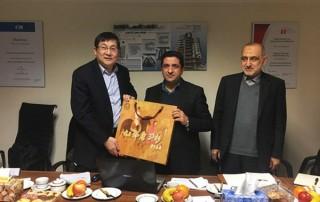 جلسه همکاری با هولدینگ چینی CMTIC در خصوص پروژه برج پردیس تجارت