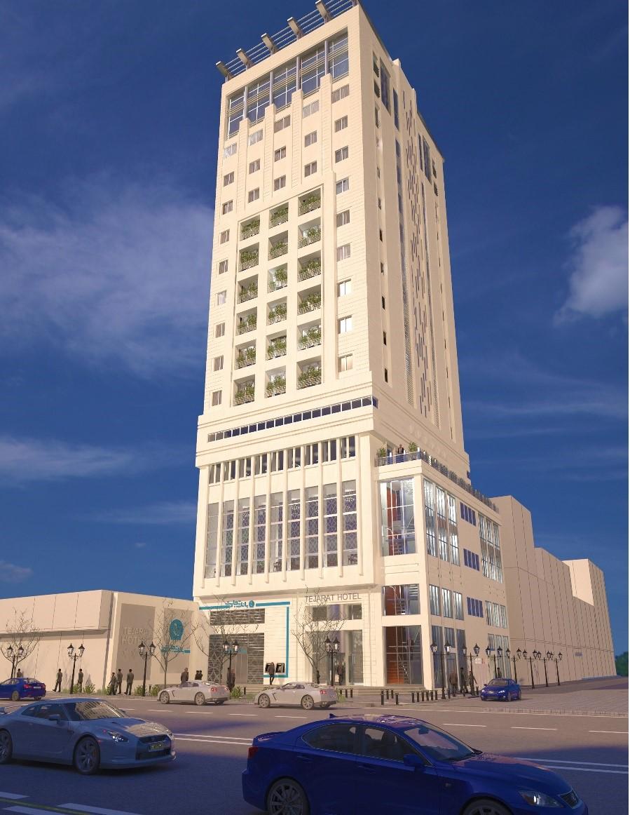 پروژه تجاری-اداری-اقامتی امام خمینی