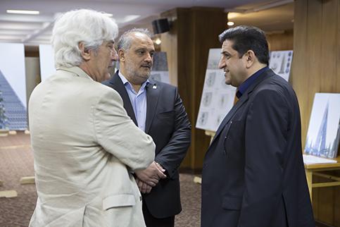 برگزاری مسابقه محدود طراحی مفهومی پروژه مرکز تجارت جهانی تهران (گلزار)